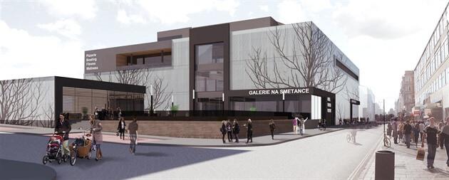 Do 3.ledna můžete připomínkovat vúzemním řízení projekt obchodní galerie před nádražím