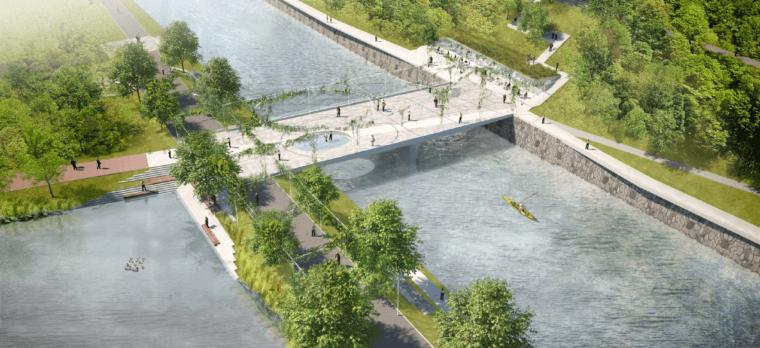 Získali jsme studii nové podoby města kolem Bečvy. Prohlédněte si ji komplet